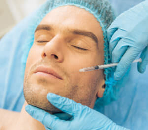 Cheek filler smooths wrinkles. Eyelid and Facial Aesthetics in Charlottesville, Virginia.